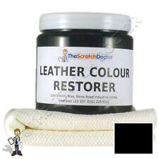 Cuero Negro Dye Color Restaurador Para Bmw De Cuero interiores de vehículos, asientos, etc..