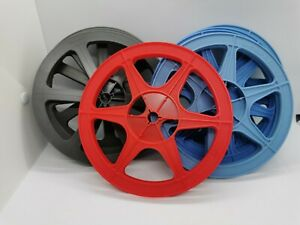 (8) 7-inch 8mm film reels Plio-magic Super 8