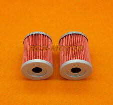 2PCS Oil Filters For Arctic Cat 250 300 1998-2005 Replaces OE # 3436-005