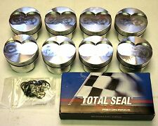 OLDSMOBILE 350, 20 OVER, GSX FORGED PISTONS ( 4.080 ) AND RING SET