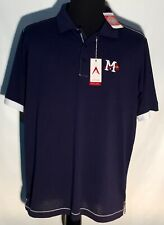 Mississippi Braves Atlanta MiLB Minor League Team Antigua XL Polo Shirt NWT New