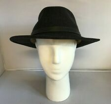 Stetson Fedora Hat Mens Size UK XL Black 100% Wool Brimmed Autumn/Winter 301686
