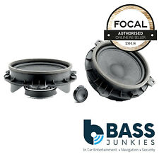 "Focal IS165TOY 6.5"" 17cm 120 Watts 2-Way Car Speaker Component Kit for Toyota"
