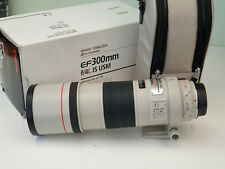 Canon EF 300mm F/4 L IS USM Lens Excellent Condition