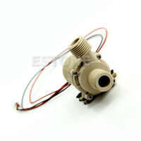 12V/24V DC Solar Hot Water Circulation Pump Brushless Motor Water Pump 5M 3M New
