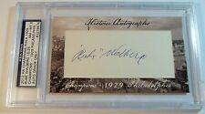 2012 Historic Autographs Champions Rube Walberg 15/25 HA auto Philadelphia