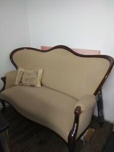 Sofa Couch Biedermeierstil alt