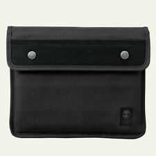 Timberland Unisex Natick Water-Resistant Black Cotton Tablet Sleeve Style J0810