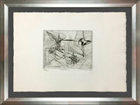 Stanley HAYTER Etching Hand SIGNED Ltd. Edition w/Custom Archival FRAME