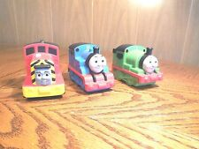Three Soft Squeezable Thomas & Friends  Trains-  Thomas, Percy and Salty