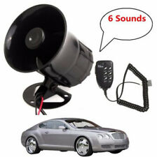 Air Horn Siren Speaker for Auto Car Boat Megaphone MIC Loud Speaker Siren  Aarm