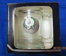 Boston Celtics NBA Mug Cup ~ 15 oz Colonial Tankard ~ Fine Pewter Emblem ~ NEW!