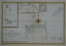 Original 1788 Map Capt. Carteret Voyage SOLOMON ISLANDS