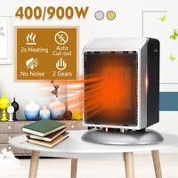 Electric Mini Fan Space Heater Portable Winter Warm Warmer Home Office 900W