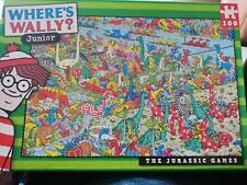Where's Wally Junior Jigsaw 100 pieces - The Juassic Games