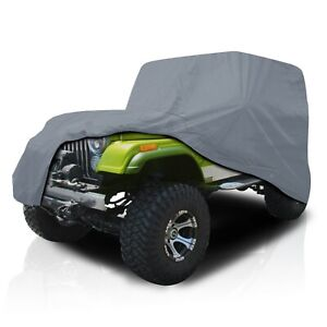[CSC] Waterproof Full Car Cover for Jeep Wrangler SUV 2-Door YJ 1987-1995