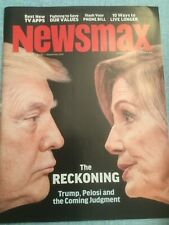 Newsmax Magazine Dec 2019 New Independent American Articles  Trump Pelosi TV App
