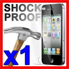 Tough Shock Proof Scratch Resistant Screen Protector Film for Apple iPhone 4S 4