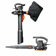 Worx 12 Amp 2-Speed Leaf Blower Vac Mulcher Patio Deck Driveway Steps Cleaner