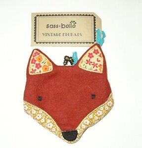 SASS BELLE PADDY THE FOX BROWN PURSE (A11)