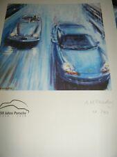 50 Jahre Porsche 1948 1998 PORSCHE 356 911 stampa un mcgeachy 1 di 50 PORSCHE Club