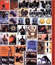 Stamp Art & Postal History of Michael Thompson & Michael  Hernandez de Luna. by