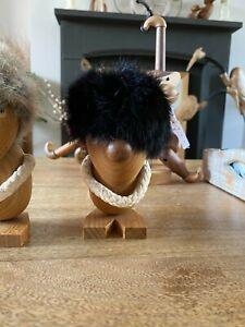 Quality Genuine Teak Mediator Man - Super Cute - Cute Decoration, Figurine
