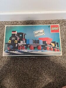 Lego 171 Train Set - Vintage - Boxed - Pieces Missing and others added