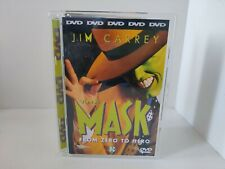 The Mask Super Jewelcase DVD Jim Carrey Movie, Dutch Release English Movie Rare