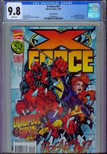 X-FORCE #47 CGC 9.8, 1995, DELUXE EDITION, NICE DEADPOOL COVER!