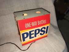 Vintage 1969 Pepsi 6-Pack Bottle Light-Up