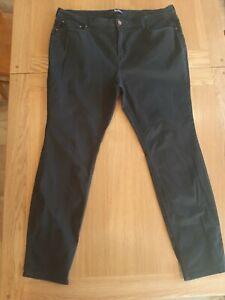 Boden Mayfair Skinny Jeans Black 20R Regular