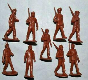 Marx. U.N Army 60mm Unpainted Plastic figures & paint guide