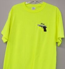 iPac Concealed Carry logo Mens Embroidered T-Shirt Size L Brand New