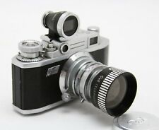 Yamato Pax M2, vintage analog camera + telephoto viewer + lens + more