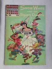 CLASSICS ILLUSTRATED JUNIOR N°501B 25 CENTS VO BE / GOOD