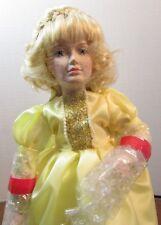 "Danbury Mint Porcelain Doll 10"" Storybook ""Cinderella"""