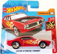 Articoli di modellismo statico rossi Pontiac scala 1:64