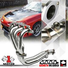 Stainless Steel Exhaust Header Manifold for 98-02 Ford Escort 2.0 121 I4 Zetec