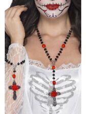 Le jour des morts rosary bead set halloween accessoire robe fantaisie