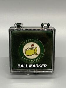 New! Masters Golf Tournament Augusta National Ball Marker In Package
