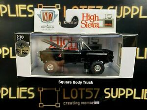 CHASE ! M2 Machines 1976 GMC High Sierra Grande 15 4X4 Squarebody Truck R62 1:64