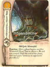 A Game of Thrones 2.0 LCG - 1x #U018 Winterfell Heart Tree - Valyrian Draft Pack