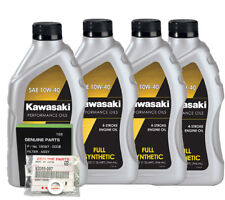 KAWASAKI ZX-10R (04-15) FULL SYNTHETIC OIL CHANGE KIT
