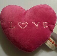 "NEW! Heart Shape Stuff Toy  5.5"" X 6.5"""