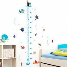 Finding Nemo Height Chart Wall Stickers Kids Boys Nursery Bathroom Vinyl Decals