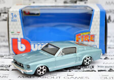 FORD MUSTANG GT 1964 1:43 Model Miniature Car Diecast Models Die Cast Blue Toy