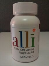 ALLI ORLISTAT 120 CAPSULES 60 MG (no box) expires 12/19
