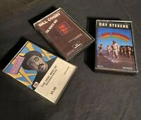 Comedy Cassette Lot Of 3 Cassettes Richard Pryor Bill Cosby Ray Stevens