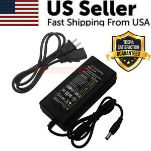 12V 5A 5 Amp 60W AC DC Power Supply Adapter Transformer 5050 3528 LED Strip CCTV